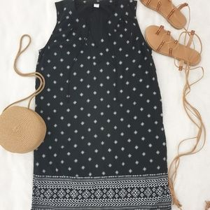 Old navy  dot mini short  black and white Dress